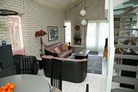 Wohnzimmer vom Ferienhaus in Breskens