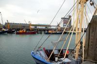 Fischereihafen in Breskens Zeeland